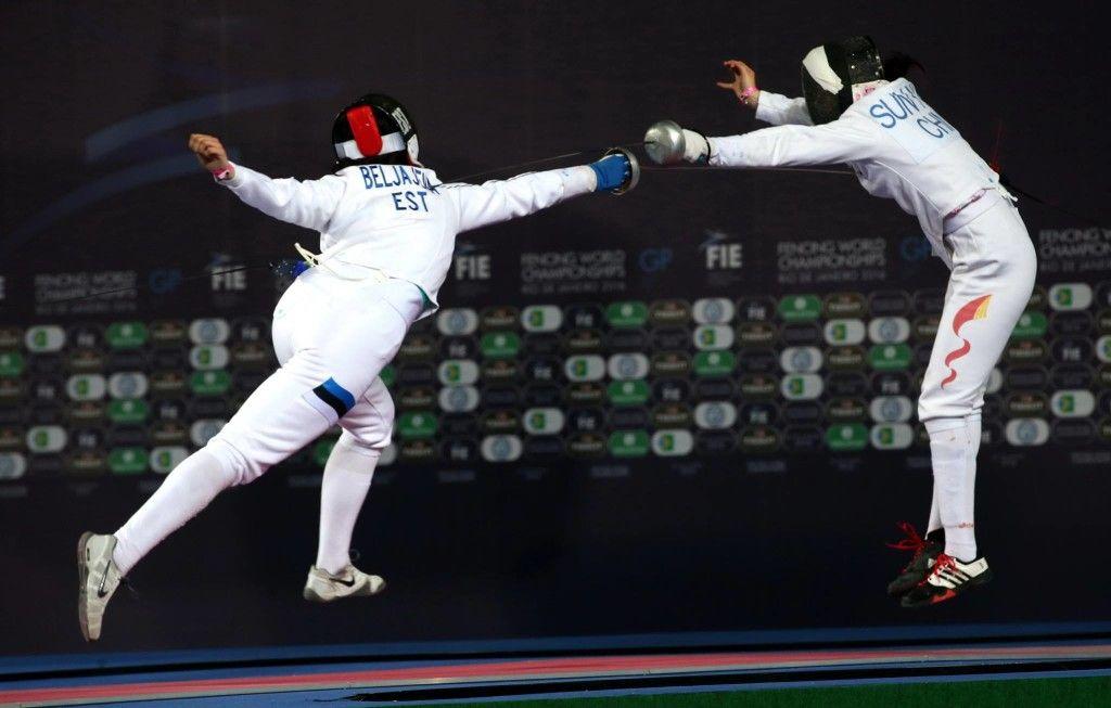 Julia Beljajeva vs Yiwen Sun CHN. Foto: Serge Timacheff