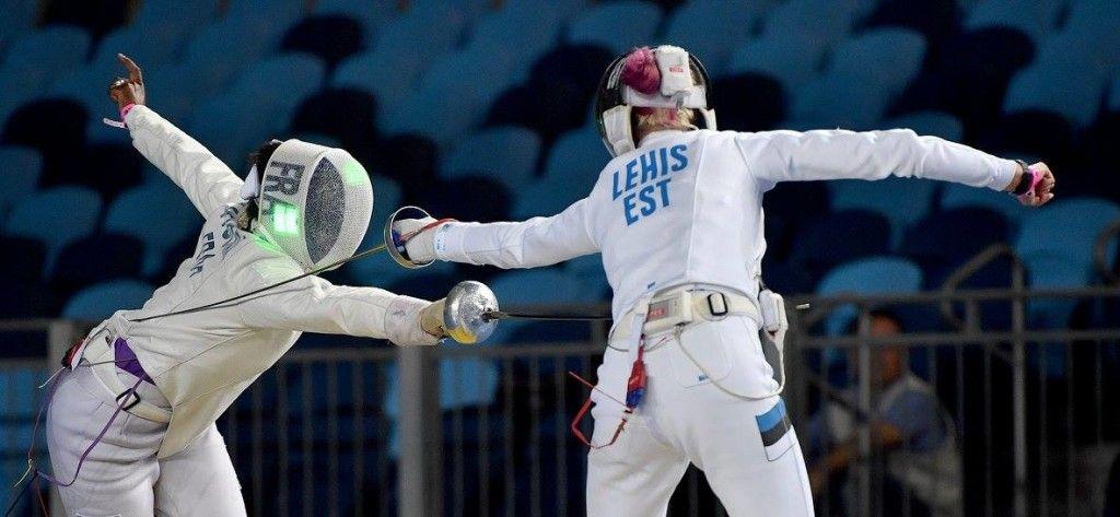 Lehis vs Helene Ngom FRA. Foto: Augusto Bizzi