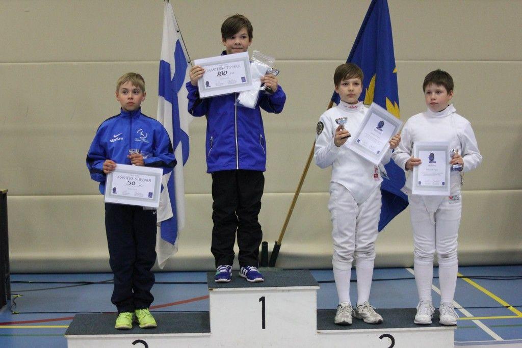 Aleksandr Popov paremalt esimene. Foto: Fencing Finland/FB
