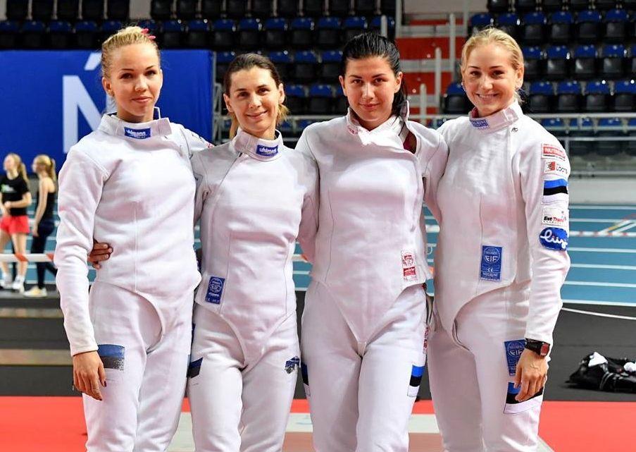 Eesti: Erika Kirpu, Irina Embrich, Julia Beljajeva, Kristina Kuusk. Foto: Augusto Bizzi