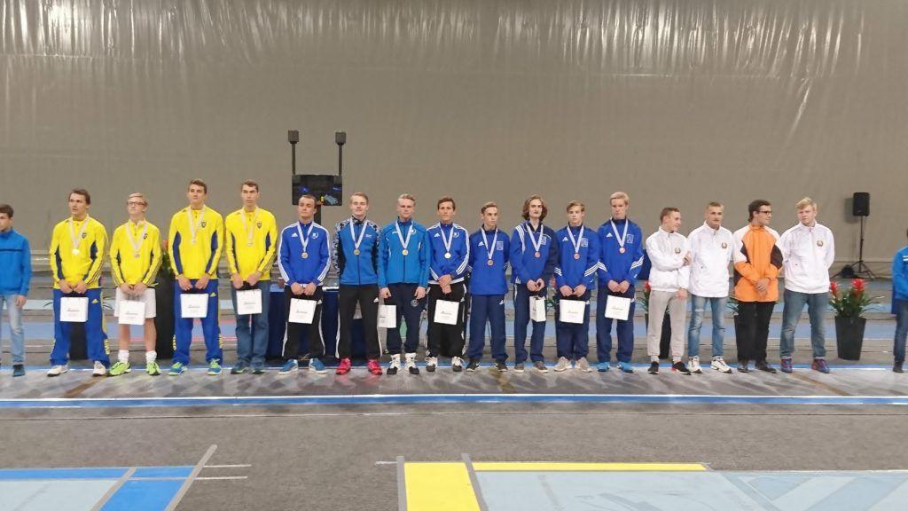 Vasakult: Rootsi, Eesti, Soome, Valgevene