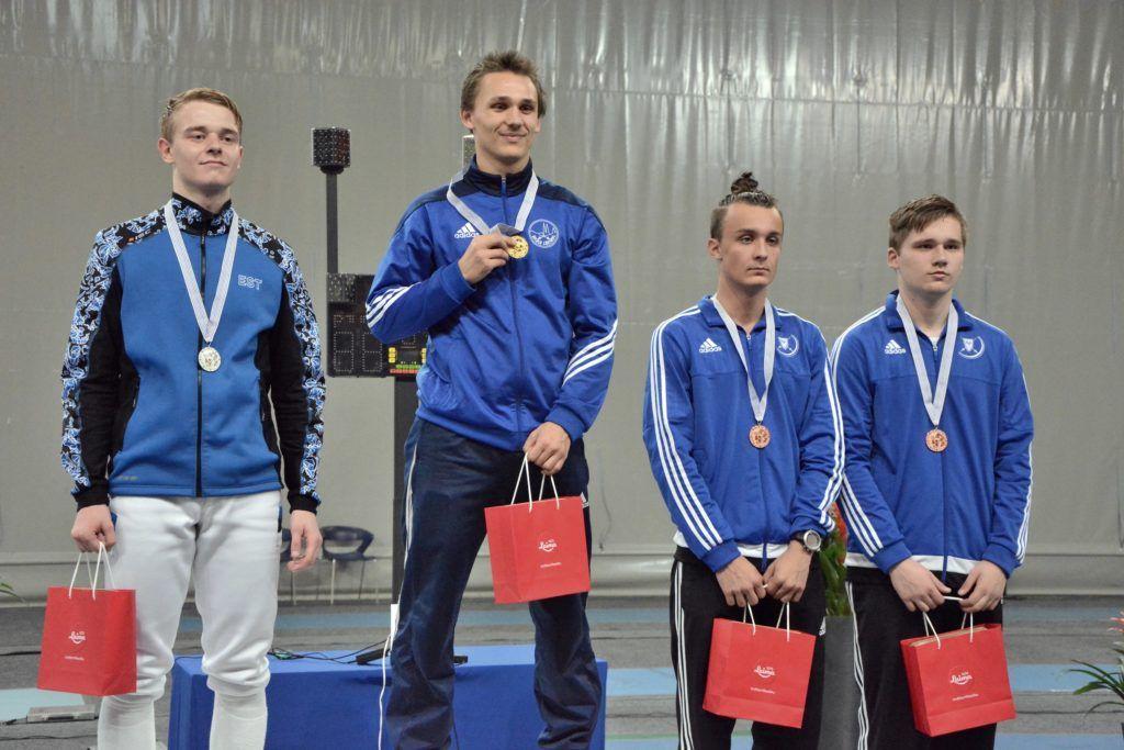 Vasakult: Ruslan Eskov EST, Linus Islas Flygare SWE, Andzej Gedzo EST, Maksim Serhovets EST. Foto: Maarja Linnamägi