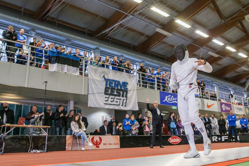 46. Tallinna Mõõga turniir Tallinna Spordihallis. Foto: Joosep Martinson/www.joosepmartinson.com