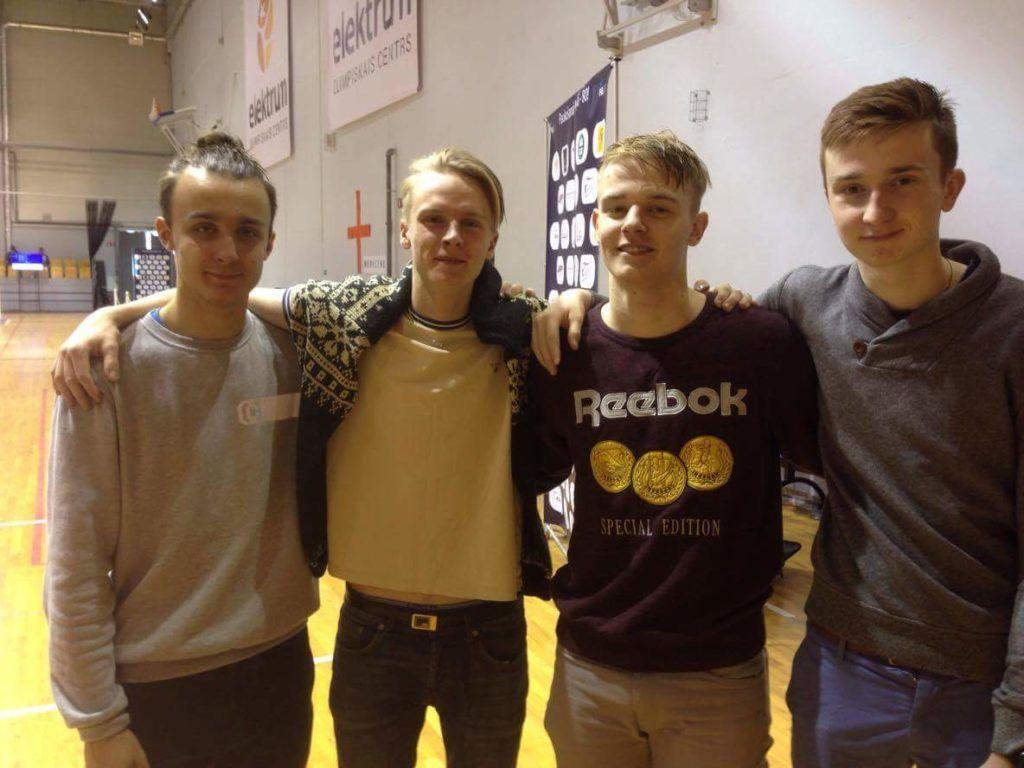 Vasakult: Andzej Gedzo, Henri Kopra, Ruslan Eskov, Filipp Djatšuk. Foto: Sergei Bobrov