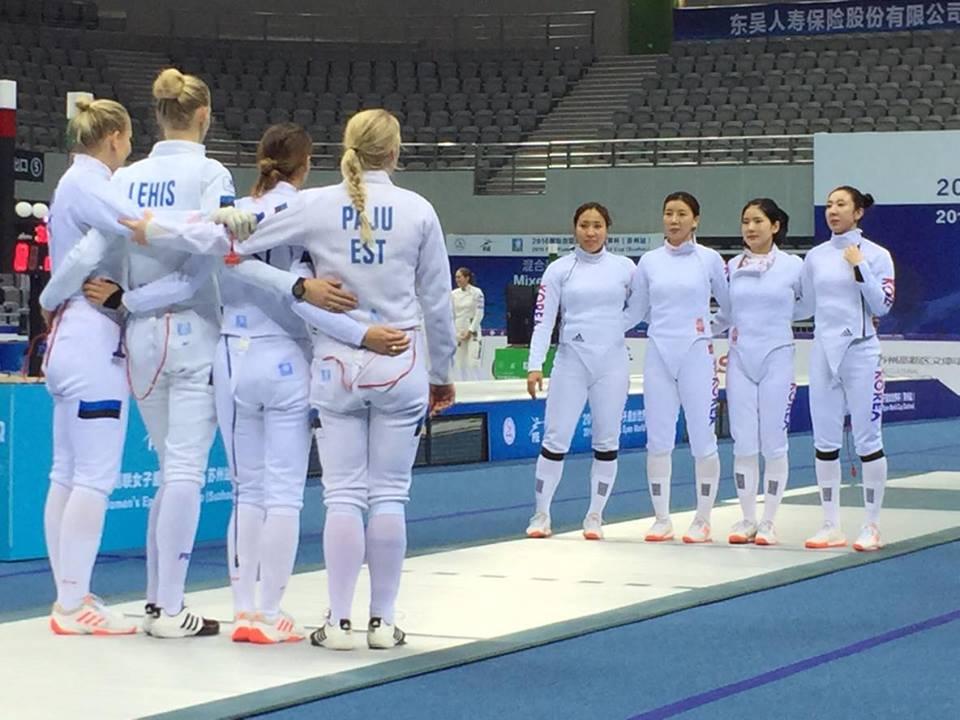 Eesti vs Lõuna-Korea. Foto: Helen Nelis-Naukas